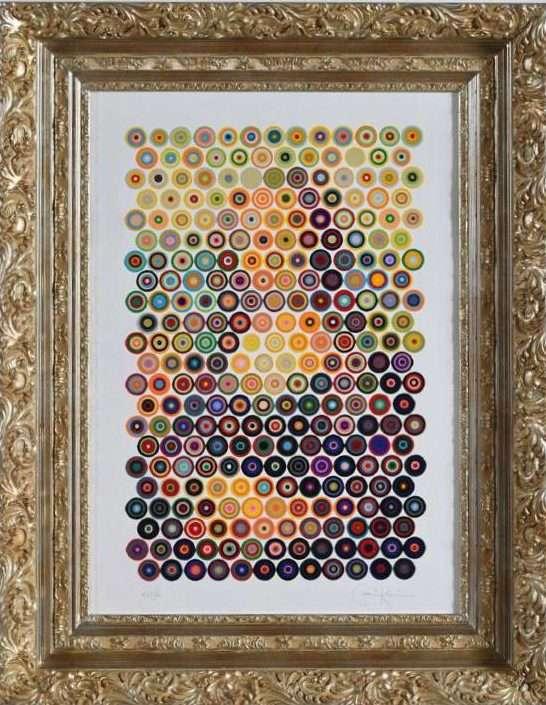 monna lisa – gavin rain – 50 x 70- tecnica serigrafia