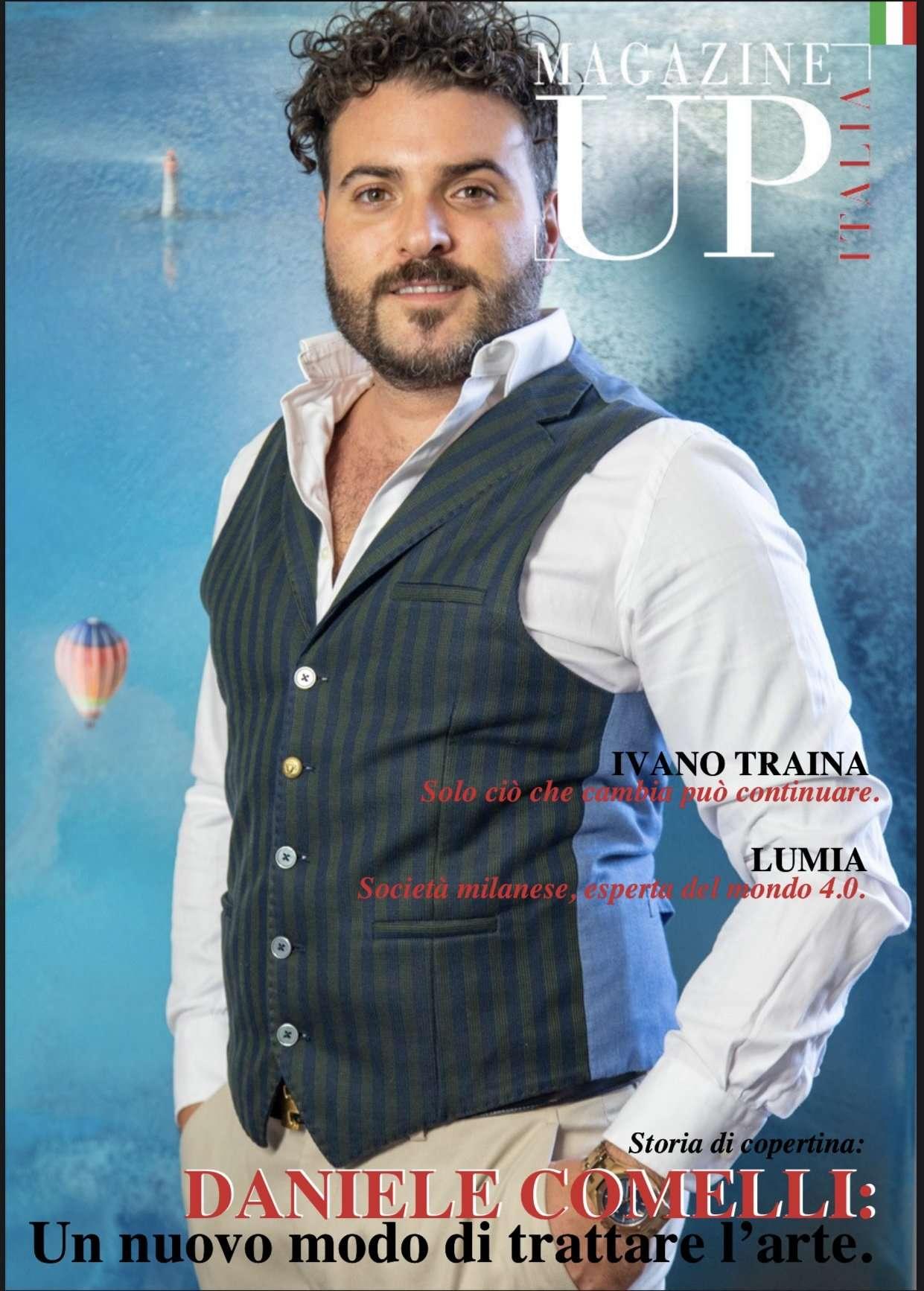 Copertina UP Magazine Italia