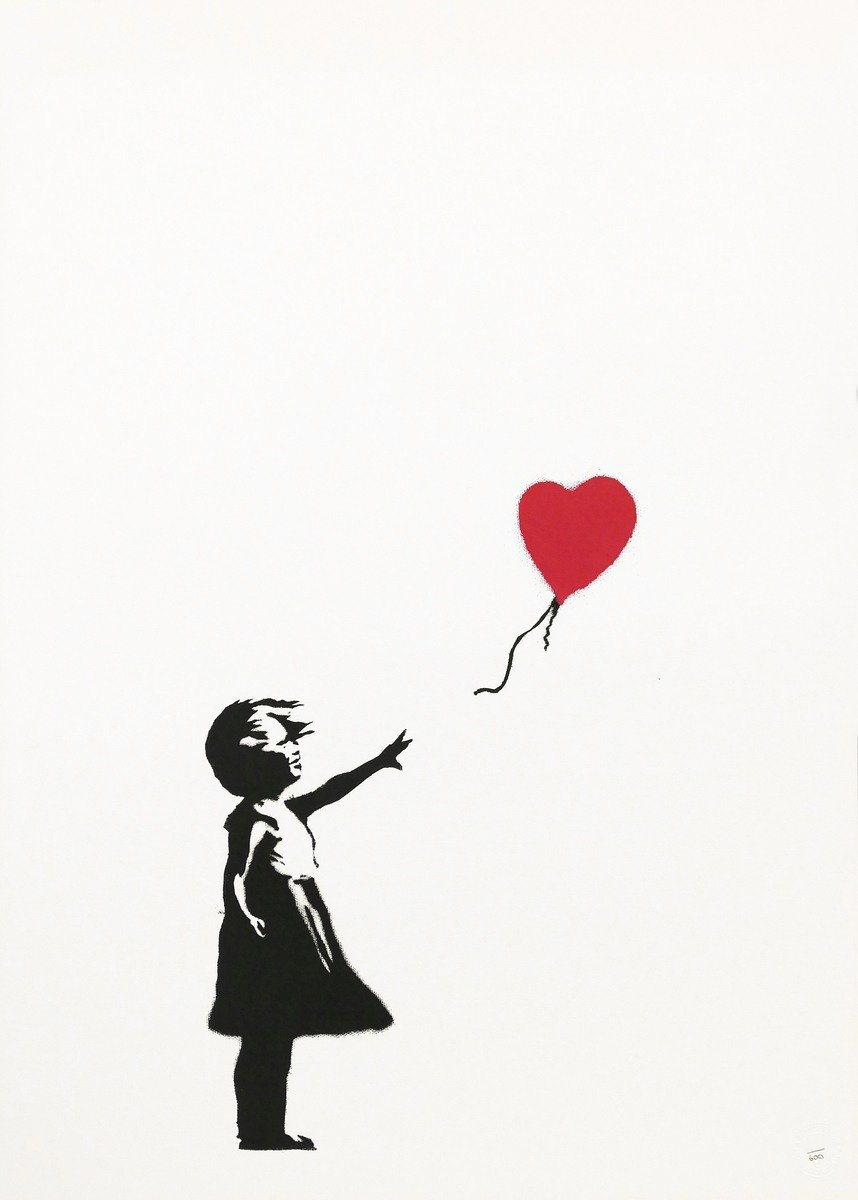 Girl-With-Balloon-by-Banksy-unsigned-print-MyArtBroker-scaled